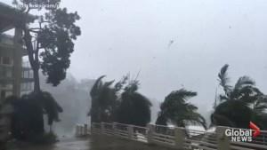 Destructive Cyclone Debbie hits north Australia