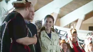 Prince William and Kate arrive in Bella Bella, BC; Duke commits to protection of rainforest