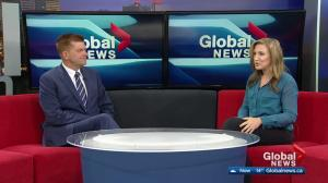Wildrose leader Brian Jean discusses unity vote