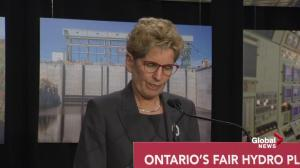 Kathleen Wynne unveils plan to reduce soaring hydro rates