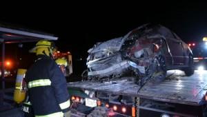 RAW: Car crash in Saint-Paul-Abbotsford