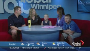 Young cancer patient Alyx Delaloye talks about Ronald McDonald House