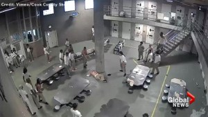Five hospitalized following ugly brawl at Chicago jail