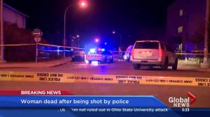 Woman shot and killed by Calgary police