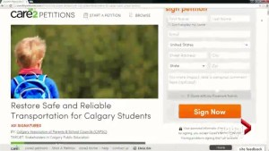 Calgary parents launch petition against new congregated bus routes