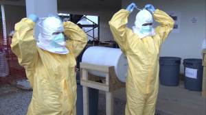 Some relief as Ebola quarantine expires for those in contact with first American patient