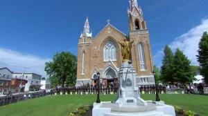 Lac-Megantic church holds service for train derailment disaster victims