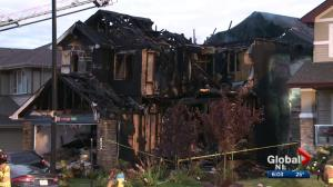 Homicide unit investigates baby's death after Edmonton house fire