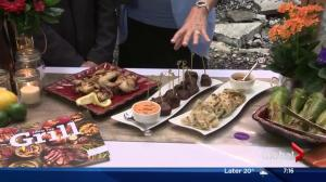 Lorraine on Location Part 1: Appetizers with ATCO Blue Flame Kitchen
