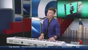Shawn Hook interview and performance