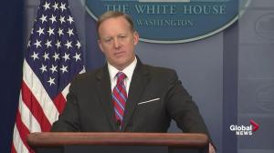 Spicer says getting health care votes is a 'balancing act'