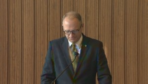 Chair of Winnipeg Police Board announces the Board's recommendation for next police chief