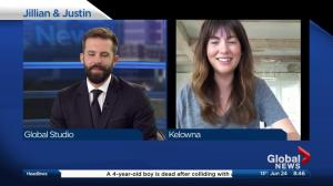 Global's Kent Morrison talks to Jillian Harris