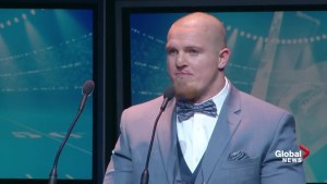 Shaw CFL Awards: Adam Bighill named Most Outstanding Defensive Player