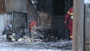 Ogden garage fire