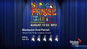 Fringe reviews: 'Jon Bennett: Fire in the Meth Lab' and 'Blackpool and Parrish'