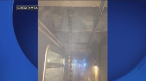 Construction drill accidentally cuts into NYC subway tunnel