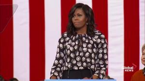 Michelle Obama: We want a president we can trust with nuclear codes