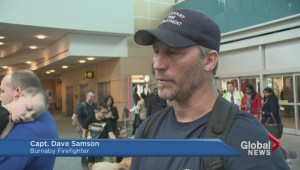 BC Firefighters return from Nepal