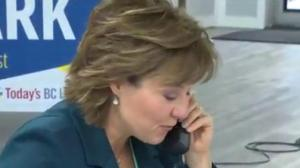 What might Christy Clark do today?