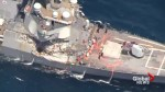 U.S. Navy releases video of destroyer involved in Japan collision