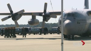 Flight MH17: Victims arrive in Netherlands