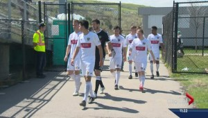 Calgary Foothills FC plays inaugural game