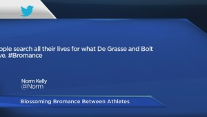 Bromance between Usain Bolt and Andre De Grasse
