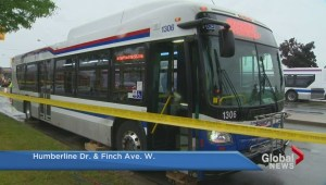 Woman killed after being struck by Brampton Transit bus