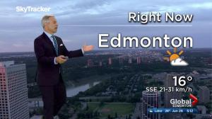 Edmonton early morning weather forecast: Monday, June 26, 2017
