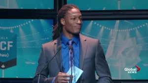Shaw CFL Awards: Derel Walker named Most Outstanding Rookie