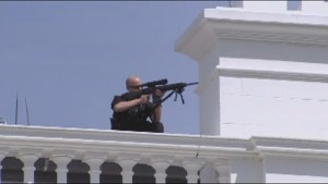 Man shot by security after approaching White House with gun
