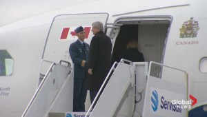 Raw video: Stephen Harper departs for Senegal