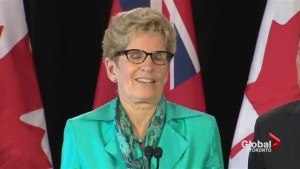 New poll suggests Premier Wynne's approval rating at all-time low