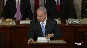 Netanyahu thanks both parties for their 'common support of Israel'