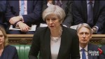 British PM delivers defiant speech to nation in Parliament: 'We Are Not Afraid'
