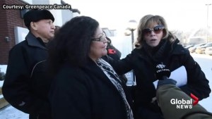 'It's like someone took my skin and peeled it off my body': Jane Fonda on oil sands tour