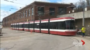 Where are Toronto's new streetcars?