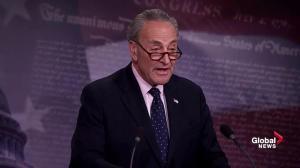 Senator Schumer: American people losing faith in Trump administration