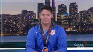 15 Year Old from Alberta takes home silver at the North American Indigenous Games