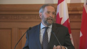 Mulcair: Every progressive in North America is against Keystone XL