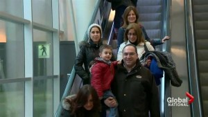 First group of Syrian refugees starts new life in Canada