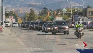 Royal visit run through: motorcades make mock Okanagan trip