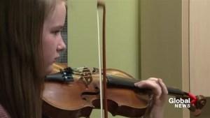 Gold medals for young Lethbridge violinist