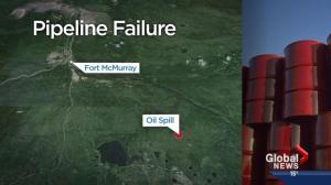 Nexen's pipeline leak near Fort McMurray