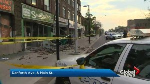 Danforth restaurant ordered shut down after bricks fall from building