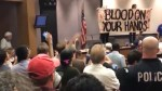 Anger and protests erupt at Charlottesville city council meeting