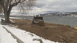 Major makeover at Kelowna beach may have to be redone