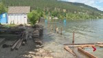 Dozens of properties in West Kelowna have been placed on evacuation alert because of rising flood threats