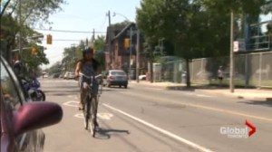 'Dooring' a danger to cyclists along College Street